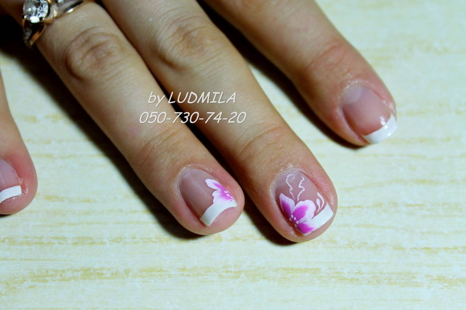 Дизайн ногтей гель лаком на свадьбу фото